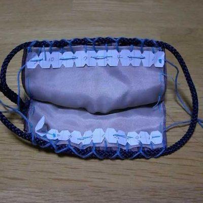 Cách khâu miệng và lồng dây